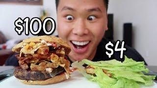 $4 Burger Vs. $100 Burger