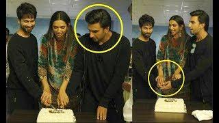 Ranveer Singh UPSET As Shahid Kapoor Joins Deepika Padukone For Padmavati Celebration