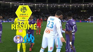 Toulouse FC - Olympique de Marseille (1-2)  - Résumé - (TFC - OM) / 2017-18