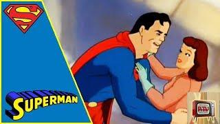 SUPERMAN I 1940s CARTOON | THE ARCTIC GIANT