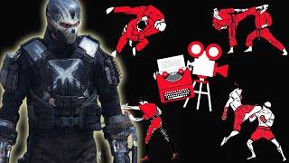 Captain America Civil War - Captain America vs Crossbones - Fight Scene Breakdown