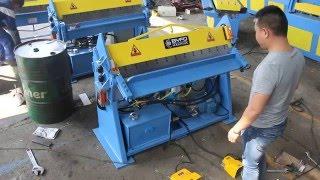 hydraulic sheet metal bending machine,small metal folding machine