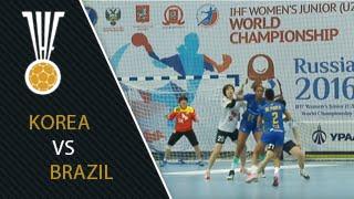 Korea 35:34 Brazil | IHFtv - Women's Junior World Championship, Russia 2016