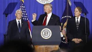 Trump Orders Wall at Mexican Border