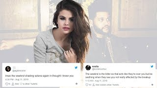 Fans Think The Weeknd's New Song, 'Thought I Knew You,' Is About Selena