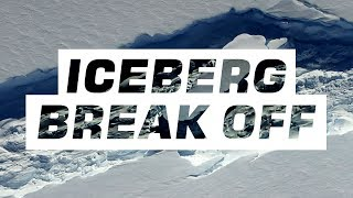The biggest iceberg breaks off Antarctica