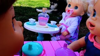 BABY ALIVE Tea Party With Mean Audrey!