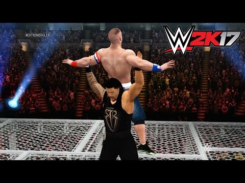 Xxx Mp4 WWE 2K17 Xbox 360 Ps3 Gameplay Hell In A Cell Roman Reigns Vs John Cena 3gp Sex