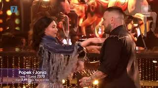 Dancing With The Stars. Taniec z gwiazdami 8 - Odcinek 7 - Popek i Janja