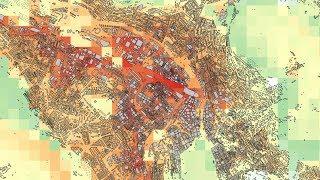 Urban heat islands: Which part of Zurich is hottest in the summer?