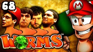 Middle Eastern Jesus Strikes Again! (Worms Clan Wars: The Derp Crew - Part 68)