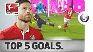 Xabi Alonso - Top 5 Goals