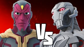 DISNEY INFINITY 3.0 VERSUS -Vision VS Ultron | Marvel Battlegrounds