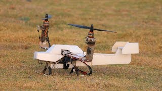 How To Make a Helicopter - Airplane Helicopter - Aeroplane