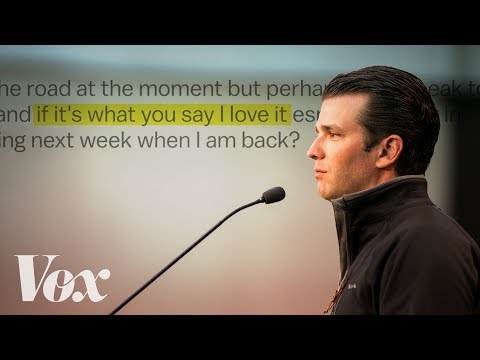 Why Donald Trump Jr. s emails change everything
