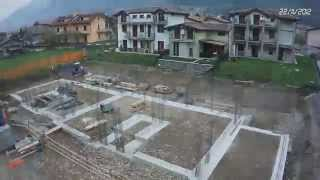 """TimeLapse construction - Condominio """"Il Glicine"""" - Piancogno (BS)"""
