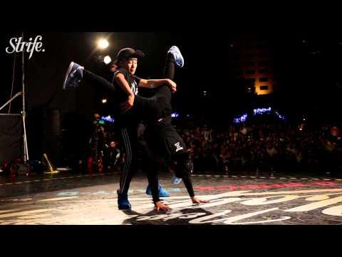 Shie-Chan & Nagi vs Ayane & Noa | New Taipei BBoy City | 2vs2 BGirl Finals | Strife.TV