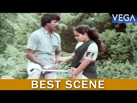 Kalamellam Un Madiyil Tamil Movie    Murali Follow The Girls In Cycle    Best Scene