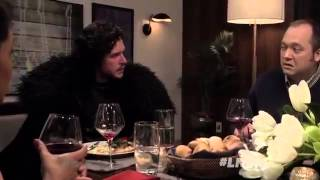 Game of Thrones' Jon Snow Comes To a Dinner Party