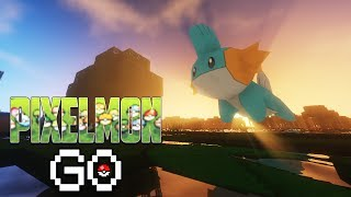 THE LONG GRIND | Pixelmon Go (Pokemon in Minecraft) S2 #18