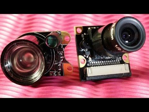 Open MAKER reviews Sainsmart RasPi NOIR camera