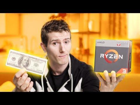 Ryzen CPU with VEGA Graphics ONBOARD!