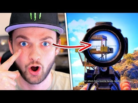 PLAYING VIDEO-GAMES... WITH MY EYES!