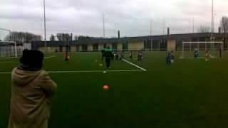 Voetballende Kinderen Van Surinaamse Afkomst.