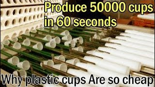[Technology Video] Produce 50,000 Plastic Cups In 1 Minutes - Amazing Manufacture Production Line