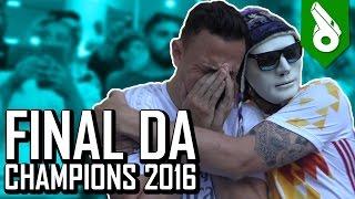 FINAL DA CHAMPIONS 2016 - FRED CHORA NO SAN SIRO