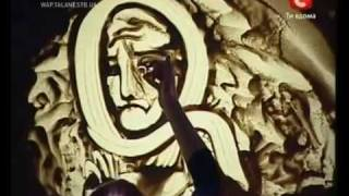 Amazing Sand Art on Ukraine's Got talent - Kseniya Simonova