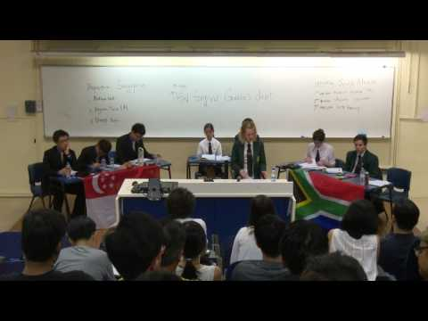 WSDC2015 Rd 8 Singapore vs South Africa
