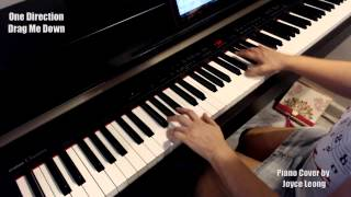 One Direction - Drag Me Down - Piano Cover and Sheets