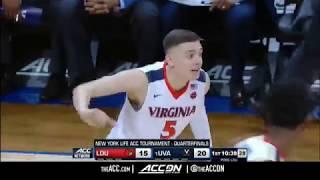 ACC MBB Tournament: Louisville vs Virginia Condensed Game 2018