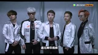 BIGBANG Message for Macau / Macao MADE Tour 2015