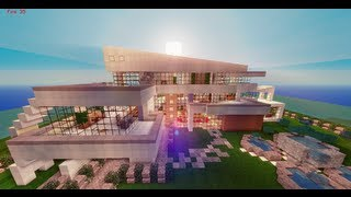 Minecraft: Casa moderna / Modern House + Descarga / Download | Ikergarcia1996