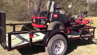 Toro MX4800 74891 Utility Trailer Echo Package Deal Review