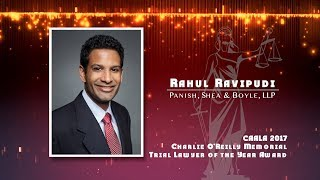 2018 CAALA GALA Honorees - Rahul Ravipudi