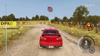 Mitsubishi Lacher Evolution X Dirt Rally