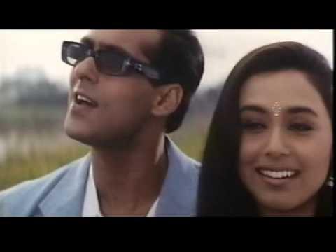 Sarki Jo Sar Se Woh Dheere Dheere Rani Mukharji and Salman Khan Hindi Bollywood Song