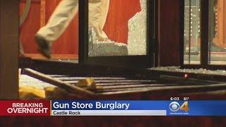 Thieves Break Into Gun Shop