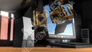 3D Animated Transformers Movie 2007 (Alternator Swindle)