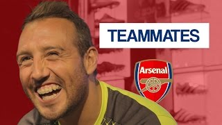 Who is the WORST dressed Arsenal player? | Santi Cazorla Teammates