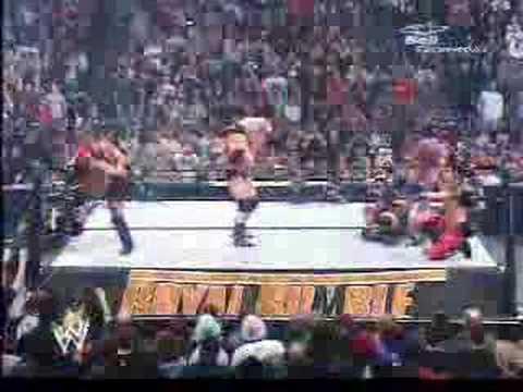 Brock Lesnar F5 To Goldberg Royal Rumble 2004