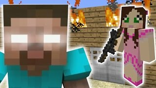 Minecraft: HEROBRINE'S BRUTAL ATTACK MISSION - The Crafting Dead [57]