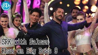 Bigg Boss 9 - Shahrukh Khan And Salman Khan Perform Together