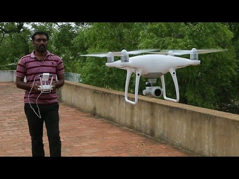 Xxx Mp4 Phantom 4 Pro Drone Camera Helicam Unboxing Setup And First Fly Tamil Phantom 4 Pro In India 3gp Sex