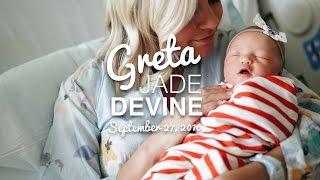 Welcoming Greta Jade Devine || A BIRTH STORY
