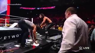 Dean Ambrose vs Seth Rollins Death Match 2014