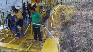 IPS Munesh Payal Bungy Jumping 13.04.2017